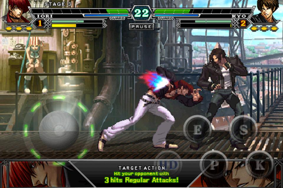 Screenshot THE KING OF FIGHTERS-i 002